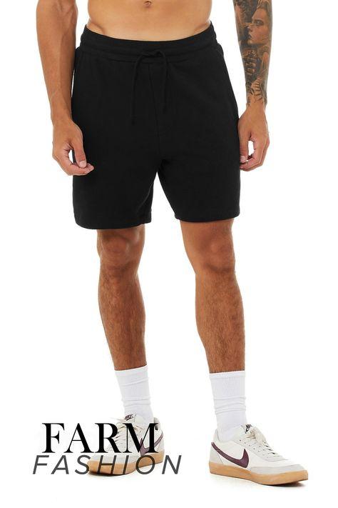 The Essential Fleece Short - Black / L
