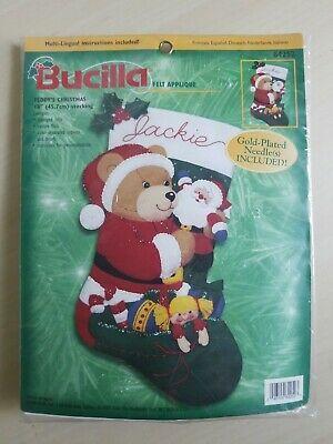 Bucilla Kit Nativity Creche Set Christmas Applique Embroidery Felt Sequins 48807 Free Shipping