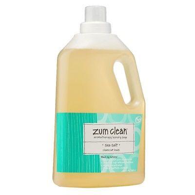 Detergents 78691 Zum Clean Aromatherapy Laundry Soap Sea Salt