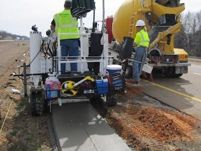 Curb Machine The Revolutionary And Versatile Machine For Construction Industry Concrete Paving Types Of Concrete Pavers