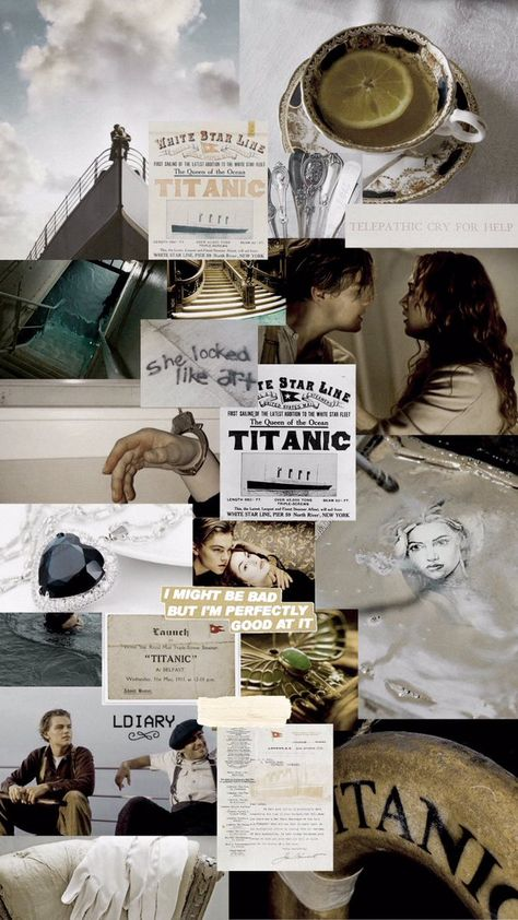 Titanic Leonardo Dicaprio, Young Leonardo Dicaprio, Titanic Quotes, Titanic Movie, Rms Titanic, Aesthetic Movies, Aesthetic Pictures, Movie Wallpapers, Cute Wallpapers