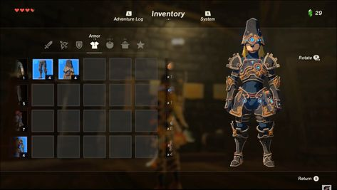 Zelda: Breath of the Wild' Ancient Armor: Location and guide