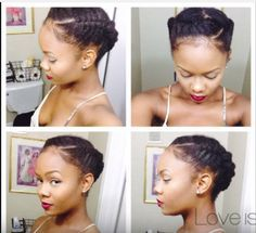 Quick hairstyles for short natural African American hair make the perfect fashion statement