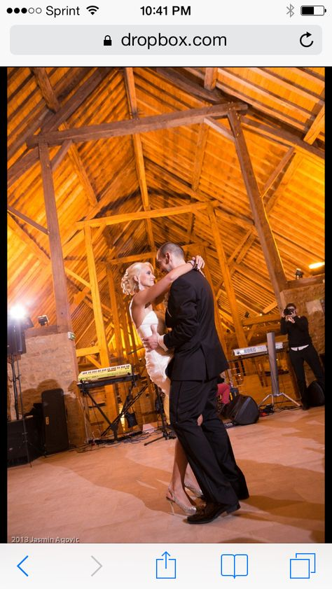 """Love is learning all the right steps to """"Time of your life"""" and making Dirty Dancing an epic part of our wedding! #loveyourhoney"""