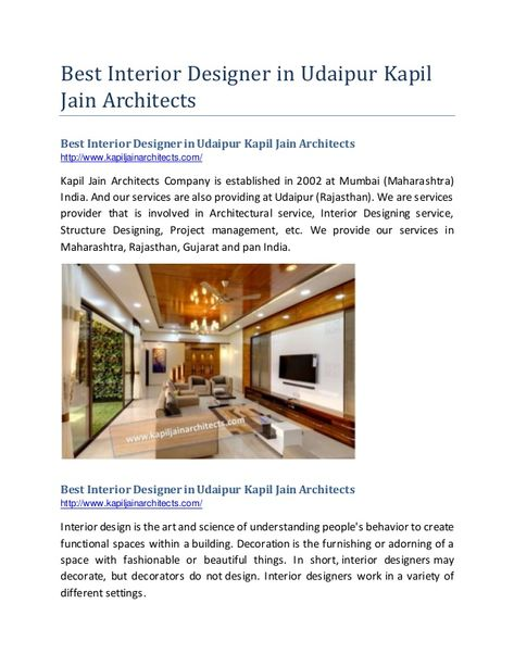 Pin By Architect Udaipur On Interior Designer In Udaipur