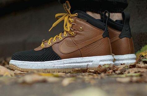 Nike Air Force 1 Duckboot (bamboo) 43einhalb Sneaker Store