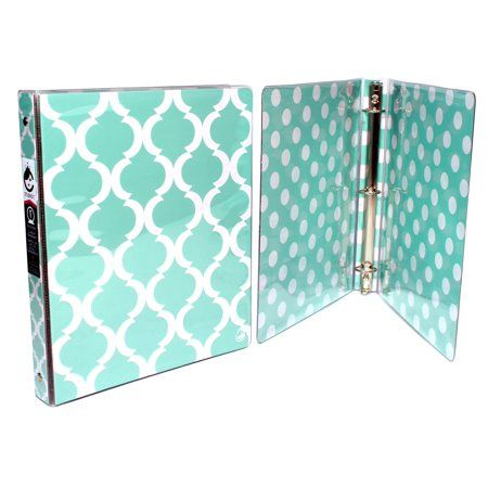 Studio C 1 Inch Vinyl Binders Pattern Play Collection Assorted Colors Walmart Com In 2020 Pattern Play Vinyl Studio C