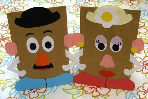 Mr. and Mrs. Potato Head Bags