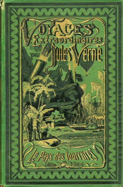 Jules Verne Et Hetzel Cartonnages Extraordinaires Jules