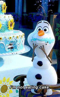 cake eater olaf