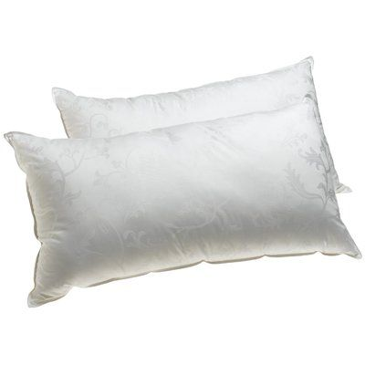 Deluxe Comfort Supreme Plus Filled Gel Fiber Pillow Size Queen