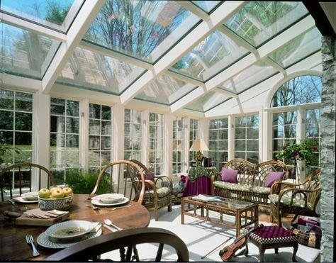 Salon De Jardin Pour Embellir Une Veranda Vitree Veranda