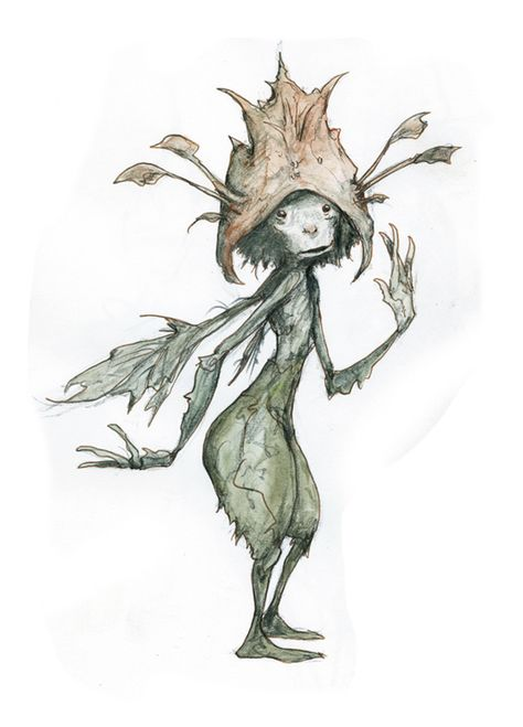 The Labyrinth and Dark Crystal artist exclusive interview Forest Creatures, Magical Creatures, Fantasy Creatures, Brian Froud, Kobold, Merian, Elves And Fairies, The Dark Crystal, Fairytale Art