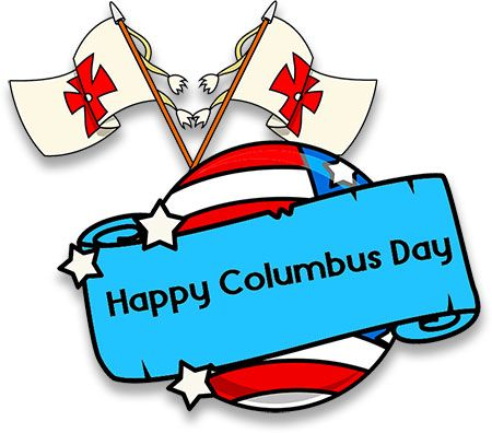 Yay Happy Columbus Day Happy Columbus Day Columbus Day Free Clip Art