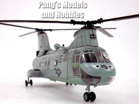 1:72 Scale Diecast metal and plastic parts – Boeing Vertol CH-46 Sea Knight - Lenght: 7.75