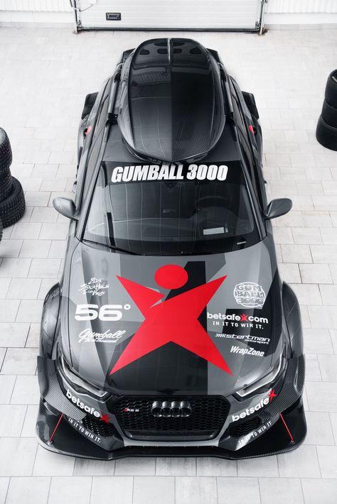 Gumball 3000 Audi RS6