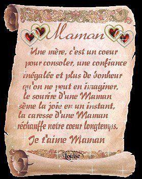 نتيجة بحث الصور عن Tu Es Toute Ma Vie Maman Bon Fete