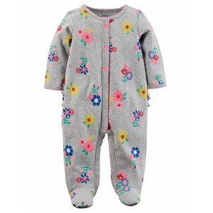 Simple Joys by Carters Neutral 2-Pack Cotton Footed Sleep and Play B/éb/é Fille