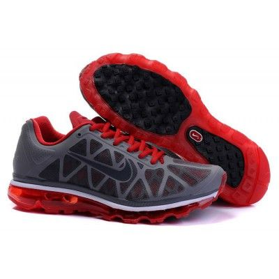 uk availability 96e73 5f0c7 Affordable Nike Air Max 2011 Netty Shoes Black Red