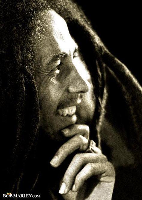Bob Marley king of reggae.