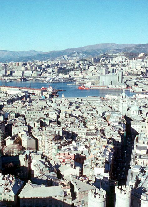 Morchi Tower on the Ripa - Genoa, Fall 1988 | Genova Italy - today ...