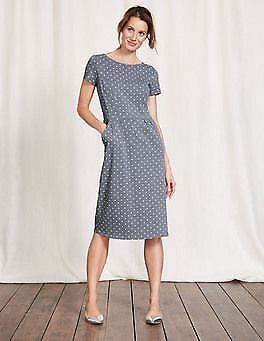 Preloved Boden Uk 10r Phoebe Dress Ww202 Vgc Fashion Clothing Shoes Accessories Womensclothing Dresses Ebay Summer Fashion Dresses Jersey Dress Dresses