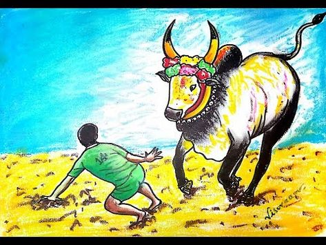 List Of Pinterest Pongal Festival Drawing Pictures Pinterest