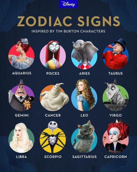 What's your sign? See Tim Burton's latest film, #Dumbo, now playing.