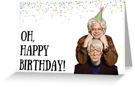 The Oh Hello Show Birthday Meme Greeting Cards Greeting Card By Willow Days Funny Birthday Cards Funny Christmas Cards Birthday Humor