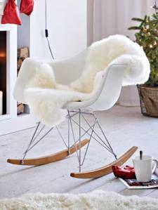 Magnificent Schaukelstuhl Vitra Eames Rocking Chair Modern Theyellowbook Wood Chair Design Ideas Theyellowbookinfo