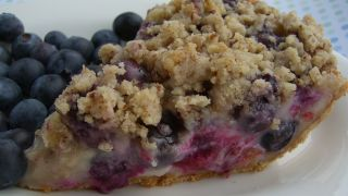 Blueberry Sour Cream Pie Recipe Food Com Recipe Blueberry Cream Pies Cream Pie Recipes Delicious Desserts