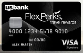 Us Bank Credit Card U S Bank Flex Perks Visa Signature Login