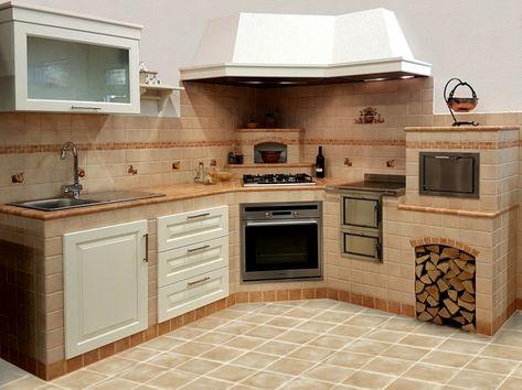 proposta-angolare-piccole-dimensioni-cucina-muratura-rosso ...