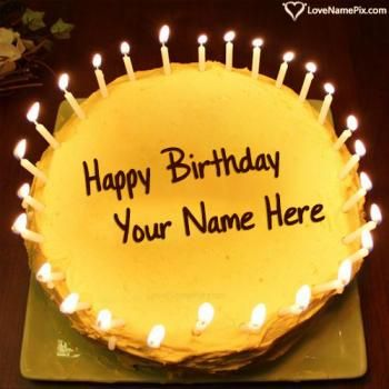 Outstanding Candles Birthday Cake Generator For Boys Name Picture Birthday Personalised Birthday Cards Akebfashionlily Jamesorg
