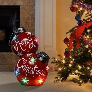 Overstock Com Online Shopping Bedding Furniture Electronics Jewelry Clothing More In 2020 Large Christmas Ornaments Christmas Balls Ball Ornaments