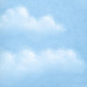 Chesapeake Madeira Blue Puffy Clouds Blue Wallpaper Sample Dlr47076sam The Home Depot Cloud Wallpaper Blue Clouds Clouds