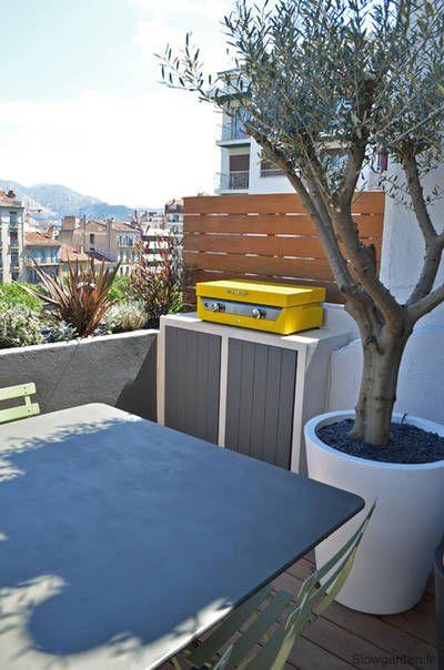 Une Terrasse De 20 Metres Carres Optimisee Slowgarden Cote