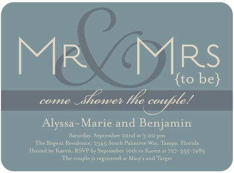 Jack And Jill Shower Invitations Here S A Pretty Yet