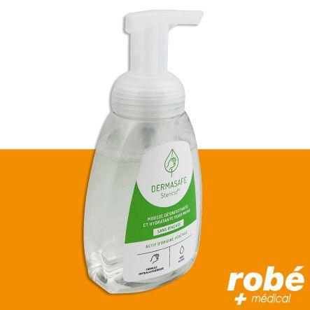 Desinfectant Mains 100 D Origine Vegetale Sans Rincage Dermasafe