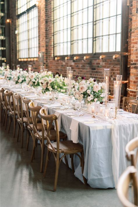 This wedding reception offered the perfect mixture of romantic elegance and a French countryside theme. Dont miss the details on Style Me Pretty!   Photo: @whitneyheard #stylemepretty #weddingreception #weddingtable #weddingstyle #frenchwedding #elegantwedding