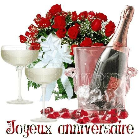 Joyeux Anniversaire Bouquet De Fleurs Pour Vous Image