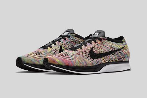 finest selection eb085 fa05e Nike Flyknit Racer Multicolor Official 1