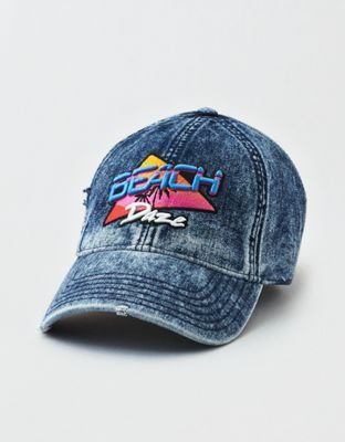 a5bf1c823 AEO Denim Beach Daze Strapback Hat by American Eagle Outfitters ...