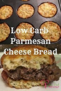 Low Carb Parmesan Cheese Bread Low Carb And Loving It Com Recipe Low Carb Keto Recipes Low Carb Recipes Recipes
