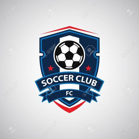 Soccer Football Badge Logo Design Templates