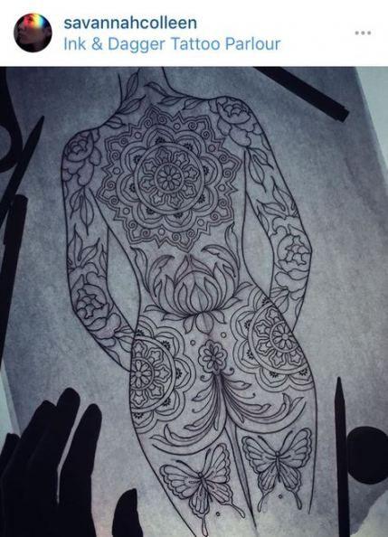Super Tattoo Mandala Back Design Inspiration Ideas #tattoo #design