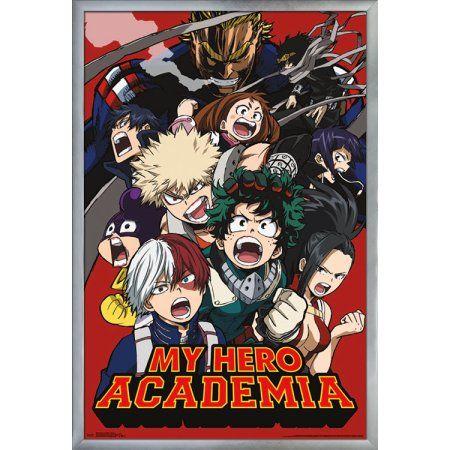 My Hero Academia Comic Action Memorabilia Multicolour 30 x 40cm