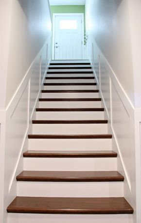 Install New Stairs Over Plywood Originals Diy With A Home Depot | Wood Stairs Home Depot | Treads | Carpeted Stairs | Stair Railing | Oak Stair Nose | Laminate Flooring