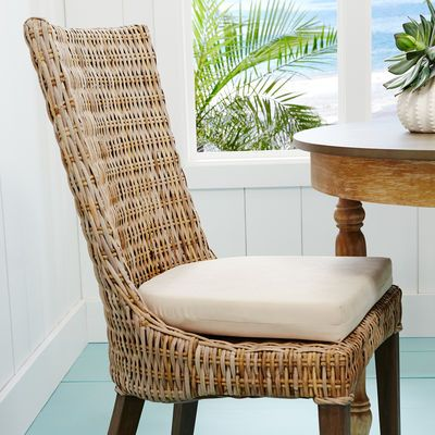 Cantik Gray Wicker Dining Chair Pier 1 Imports Dining Chairs