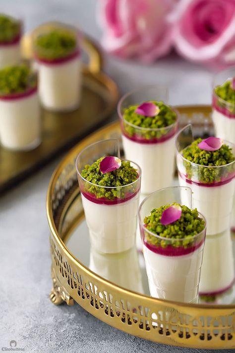 Rose Mehalabya Milk Pudding Cleobuttera Recipe Indian Dessert Recipes Middle Eastern Desserts Indian Desserts